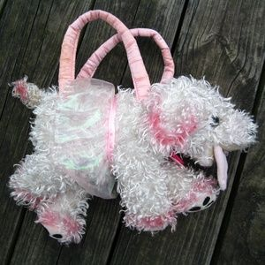 Fancy Nancy Frenchy French Poodle Dog Purse Bag